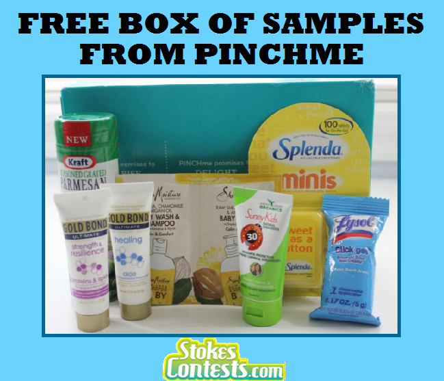Image HOT! FREE BOX of FULL Sized Samples!!!