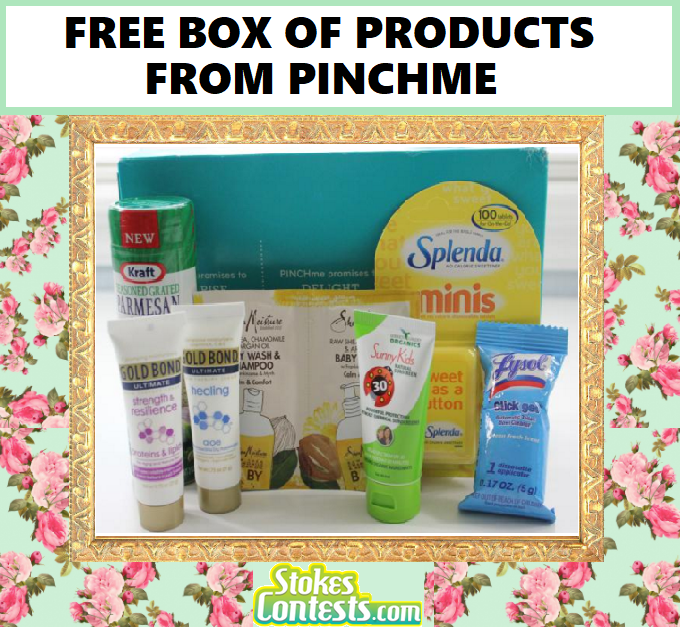 Image .FREE Full-Size Samples BOX From Pinchme!!.!