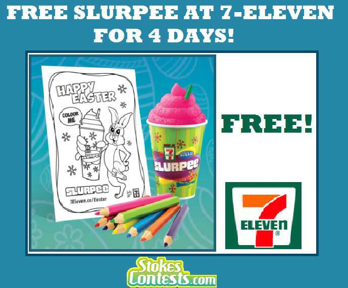 Image FREE Slurpee at 7-Eleven Canada for 4 Days!