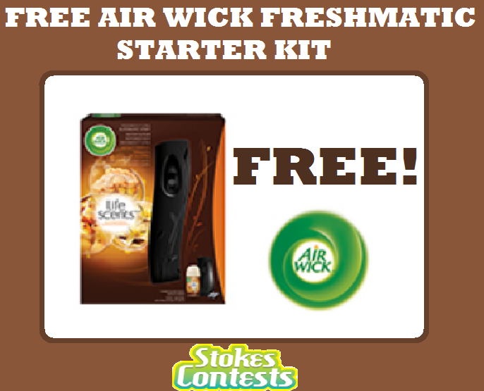 Image FREE Air Wick Freshmatic Starter Kit In Rebate
