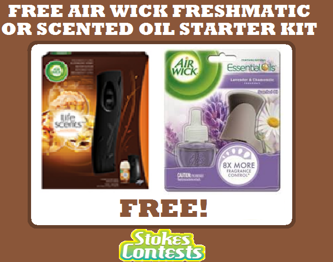 Image Air Wick Freshmatic or Scented Oil Starter Kit