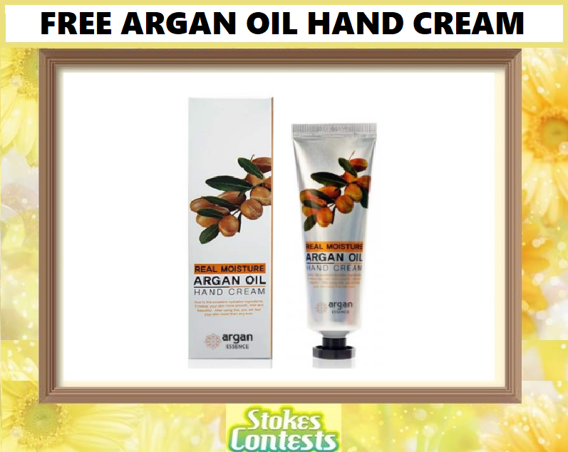 Image FREE Argan Oil Hand Cream!