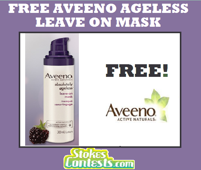Image FREE Aveeno Absolutely Ageless Leave-On Mask