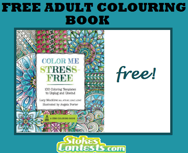 Image FREE Adult Colouring Book