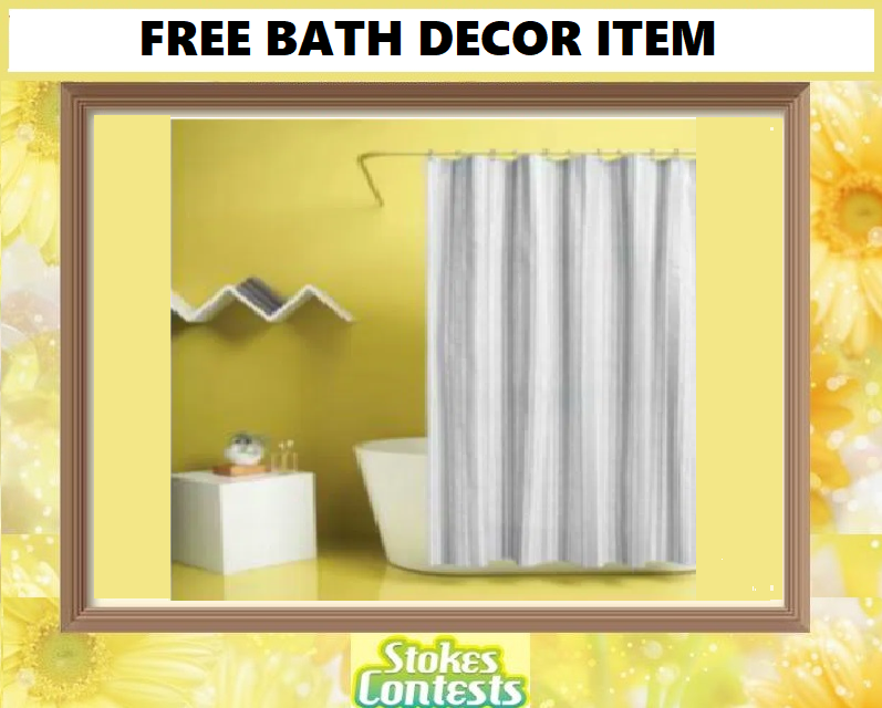 Image FREE Bath Decor Item