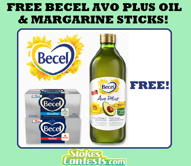 Image FREE Becel Avo Plus Oil & FREE Margarine Sticks!