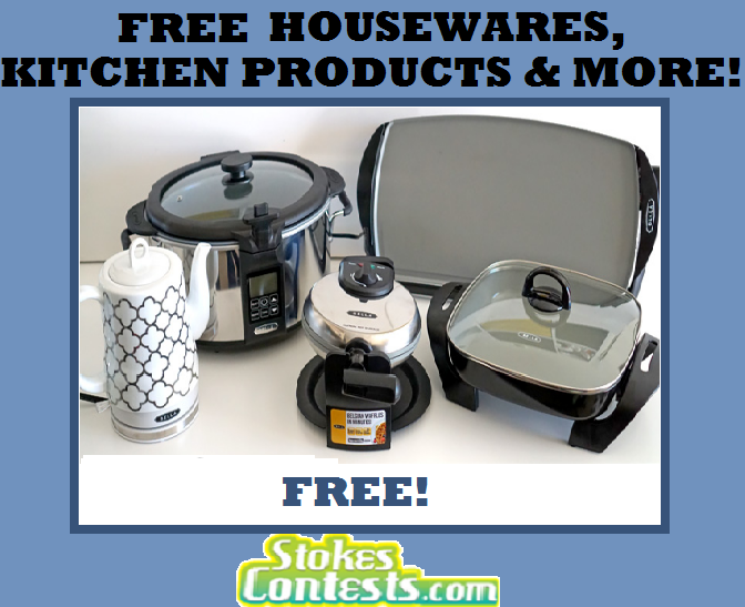 Image FREE Housewares, Kitchen Products & MORE!