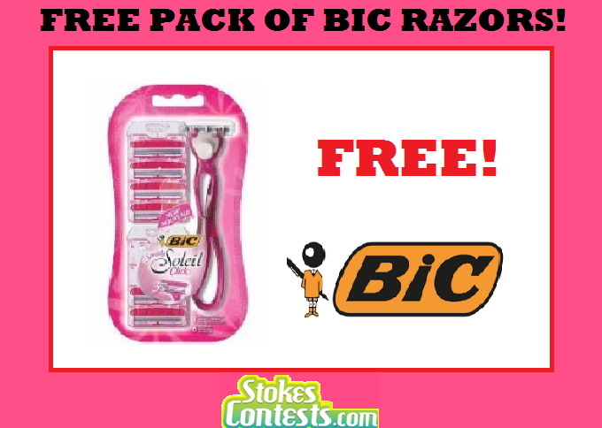 Image FREE Pack of BIC Disposable Razors Mail In Rebate