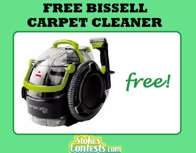 Image FREE Bissell Carpet Cleaner