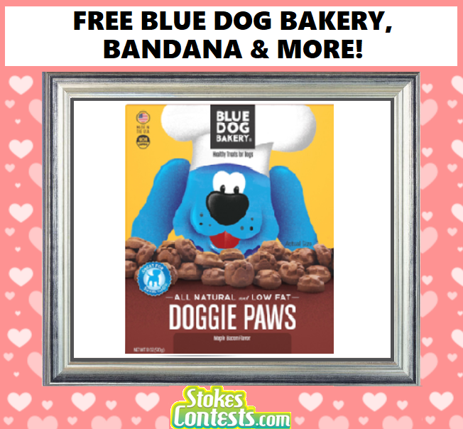 Image FREE Blue Dog Bakery, Bandana & MORE!