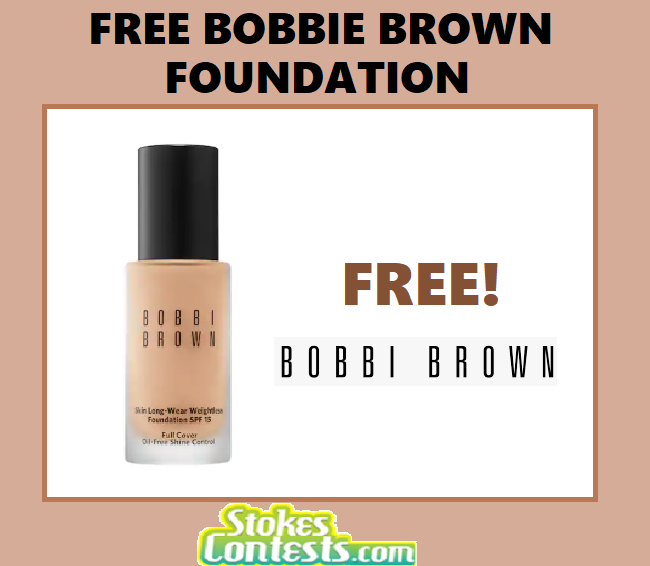Image FREE Bobbi Brown Foundation