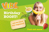 Image FREE Birthday Boost Drink from Boost Juice Bars