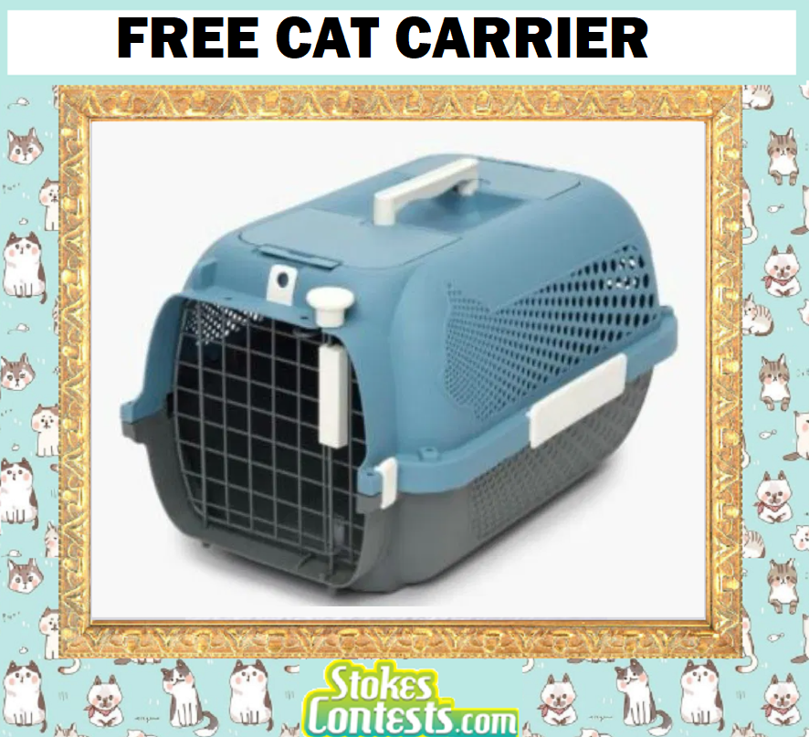 Image FREE Cat Carrier