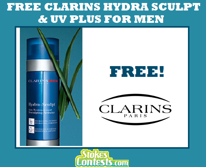 Image FREE Clarins Hydra Sculpt and UV Plus for Men