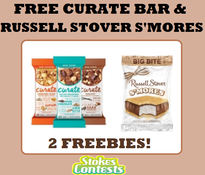 Stokes contests freebie free curate bar free russell for Food bar russell