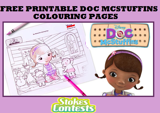 STOKES Contests - Freebie - FREE Printable Doc McStuffins ...