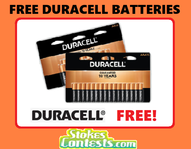 Image FREE Duracell Batteries