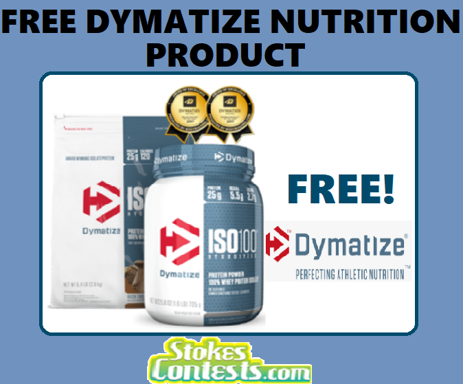 Image FREE Dymatize Nutrition Product