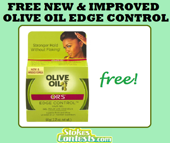 Image FREE New & Improved Olive Oil Edge Control Hair Gel