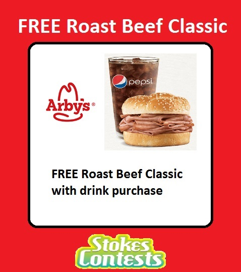Image FREE Arby's Roast Beef Classic