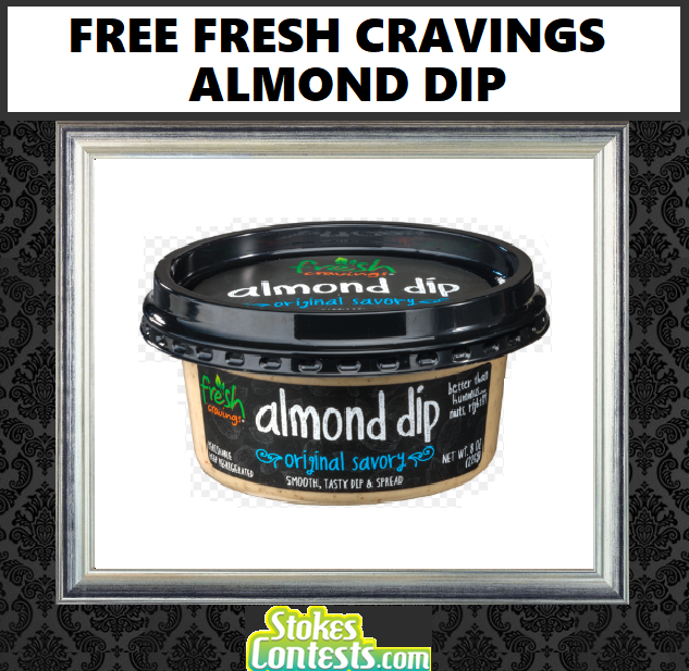 Image FREE Fresh Cravings Almond Dip