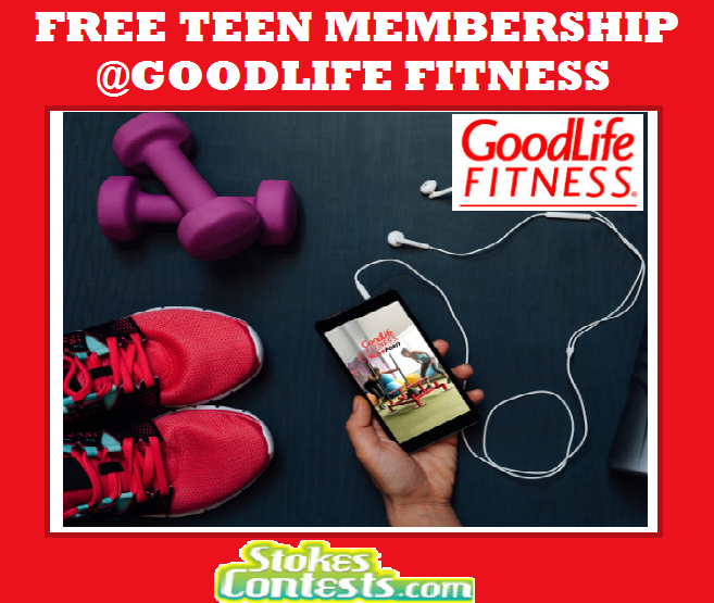 Image FREE Teen Fitness Membership @GoodLife Fitness