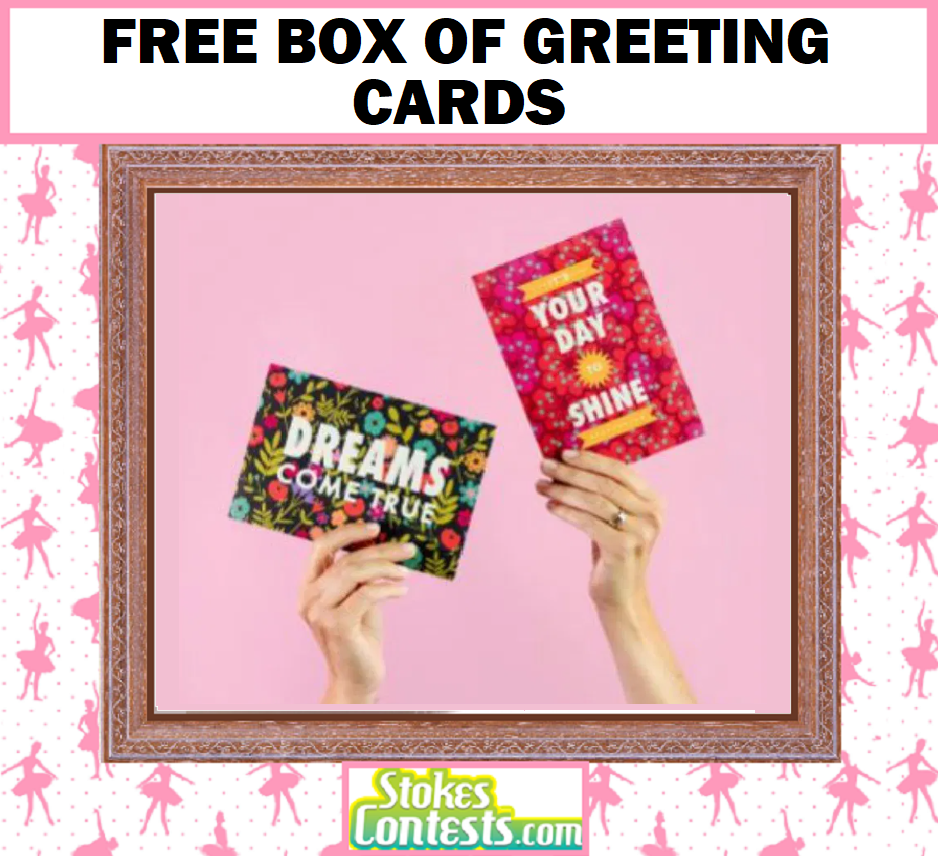 Image FREE Box Of Greeting Cards