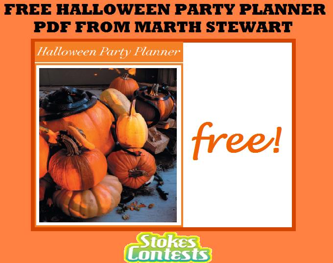 Stokes contests freebie free halloween party planner pdf from image free halloween party planner pdf from martha stewart download forumfinder Gallery