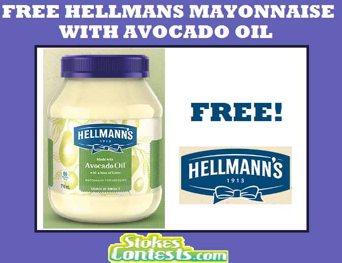Image FREE Hellman's Mayonnaise with Avocado Oil