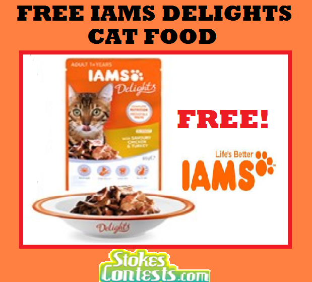 Image FREE IAMS Delights Cat Food