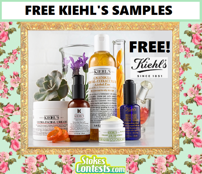 Image FREE Kiehl's Samples