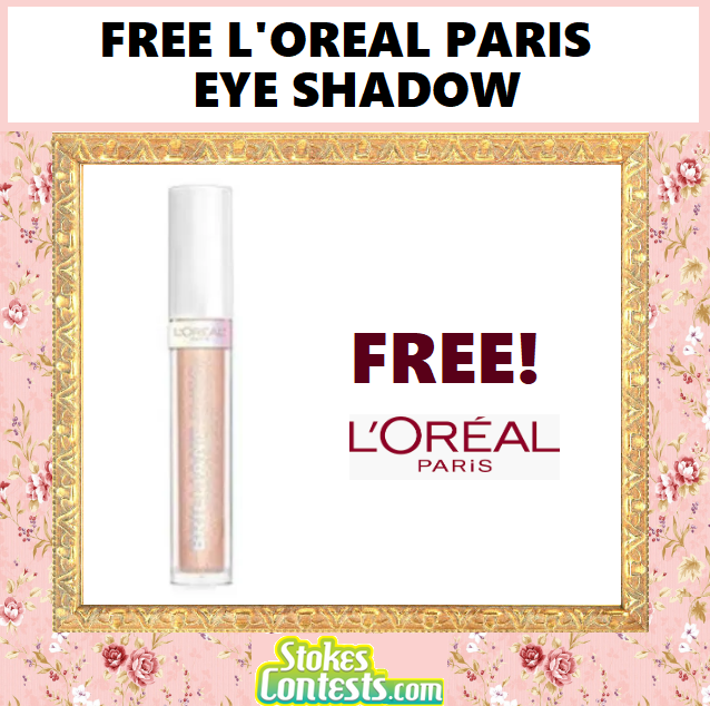 Image FREE L'Oreal Paris Brilliant Eyes Eye Shadow