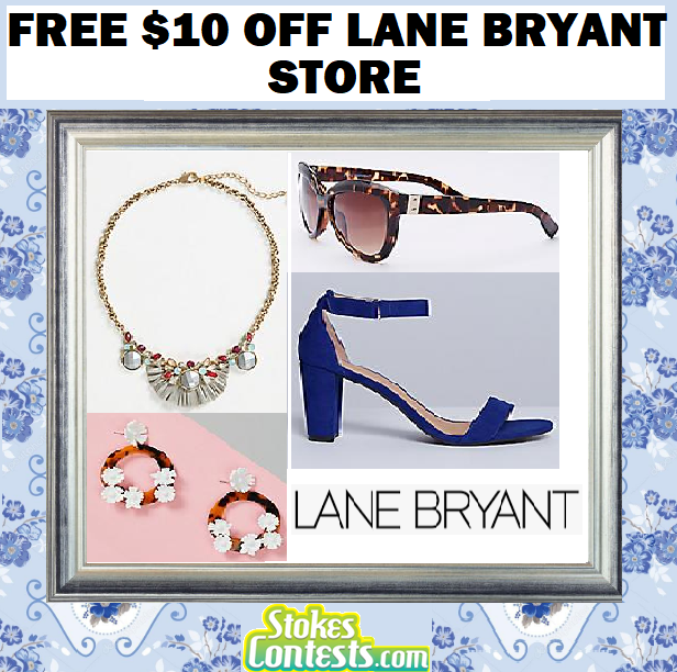 Image  FREE $10 Off Lane Bryant Purchase
