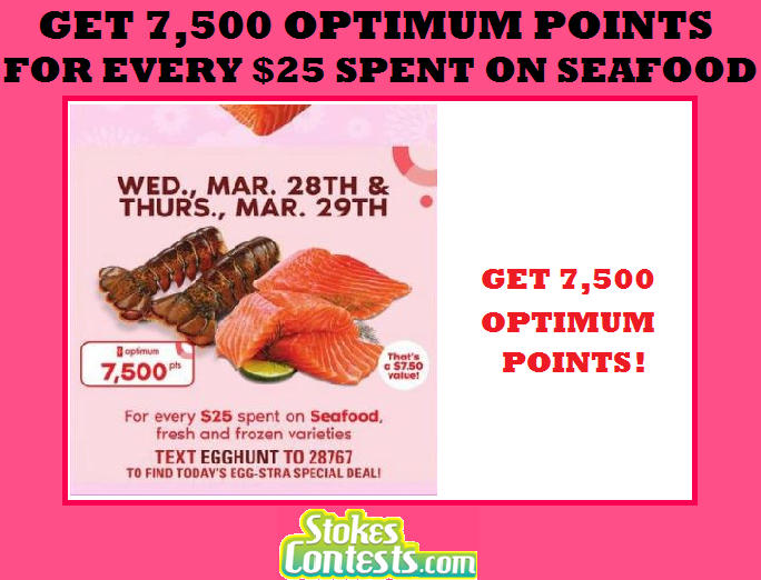 Image Get 7,500 Points for Every $25 Spent on Seafood @Loblaws Ontario