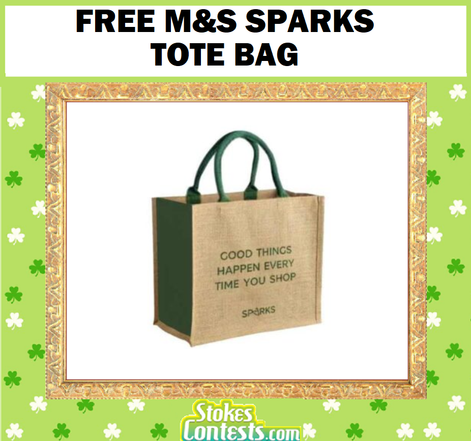 Image FREE M&S Sparks Tote Bag