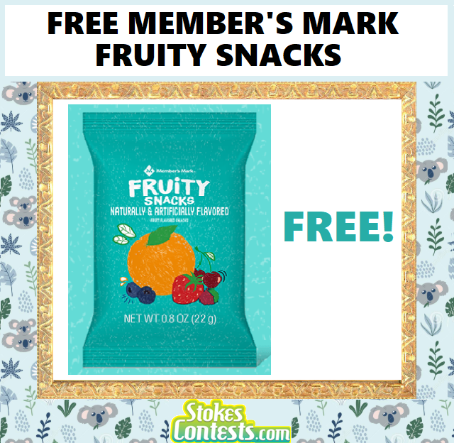 Image FREE Member's Mark Fruity Snacks.