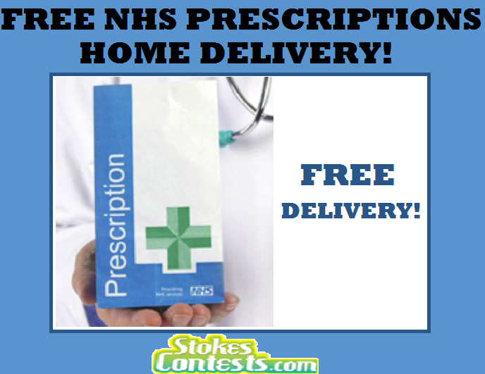 Image FREE NHS Prescriptions Home Delivery