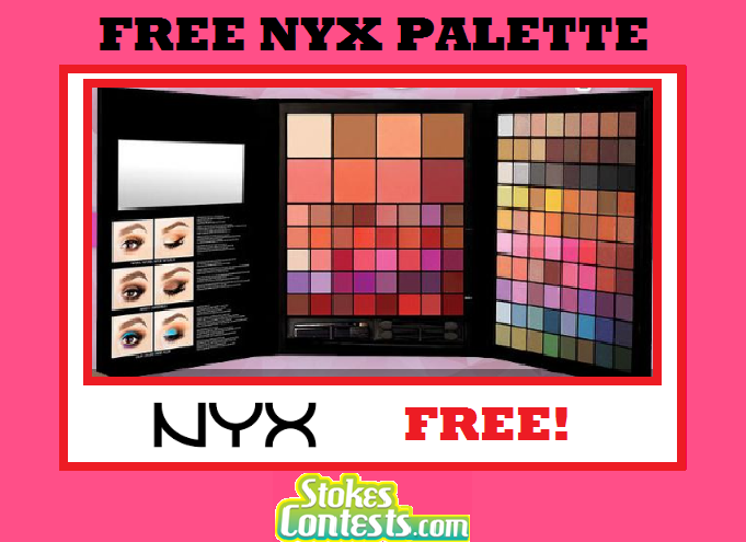 Image FREE NYX Palette £45!