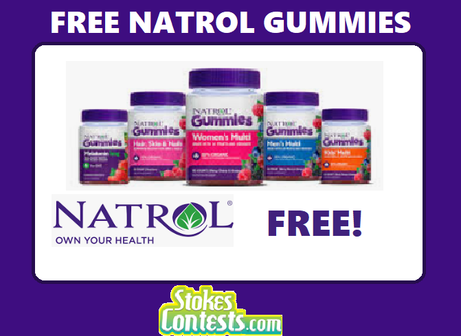 Image FREE 90 Count Natrol Gummies After Rebate