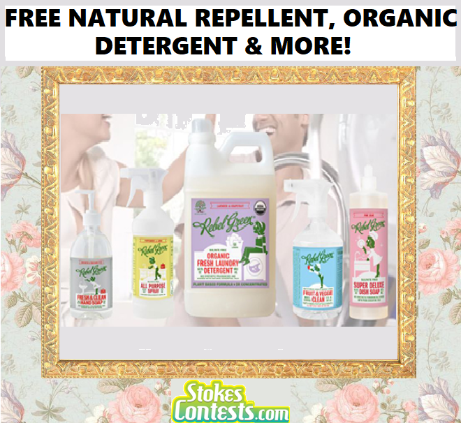 Image FREE Natural Repellent, Organic Laundry Detergent & MORE! VALUED at $80+