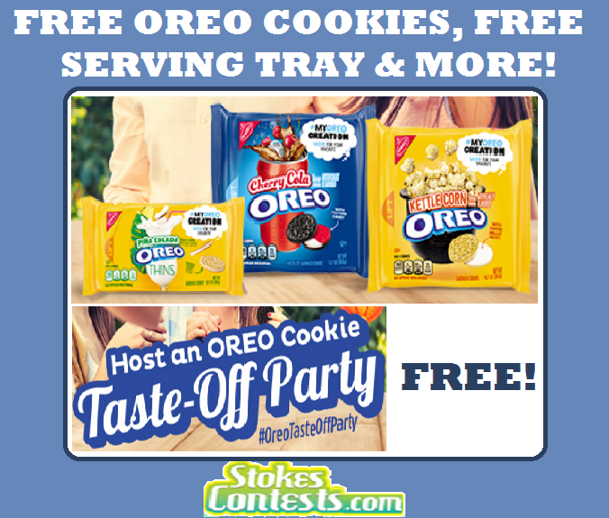 Image FREE Oreo Cookies, FREE Serving Trays & MORE!
