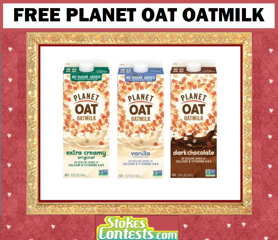 Image FREE Planet Oat Oatmilk 52 oz!