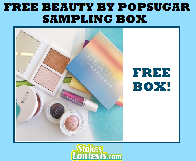 Image FREE Beauty by PopSugar Sampling BOX