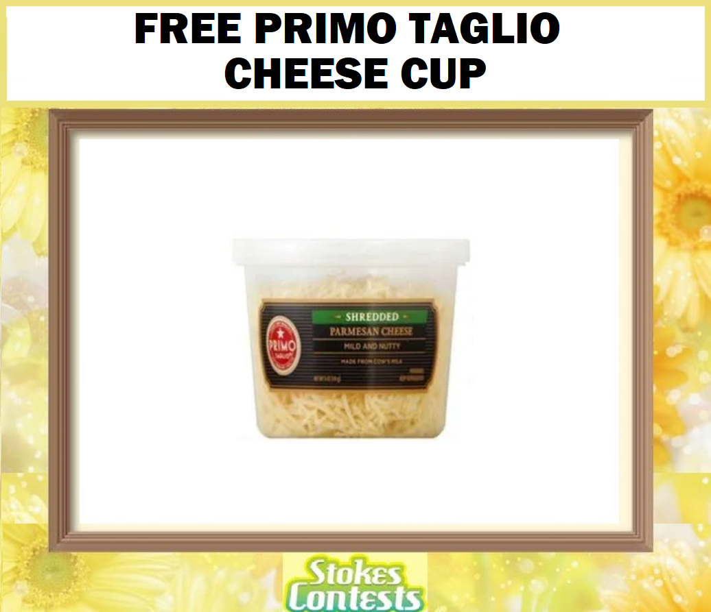 Image FREE Primo Taglio Cheese Cup