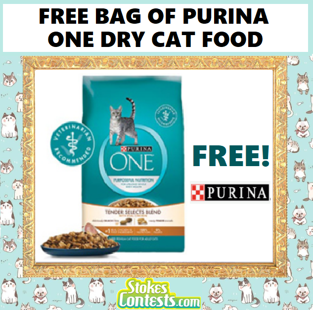 Image FREE BAG of Purina One Dry Cat Food