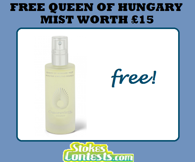 Image FREE Queen of Hungary Mist Worth £15