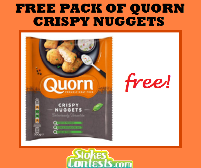 Image FREE Pack of Quorn Crispy Nuggets