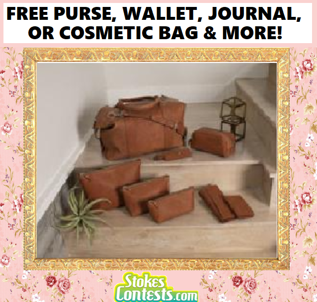 Image FREE Purse, Wallet, Journal, OR Cosmetic Pouch & MORE!