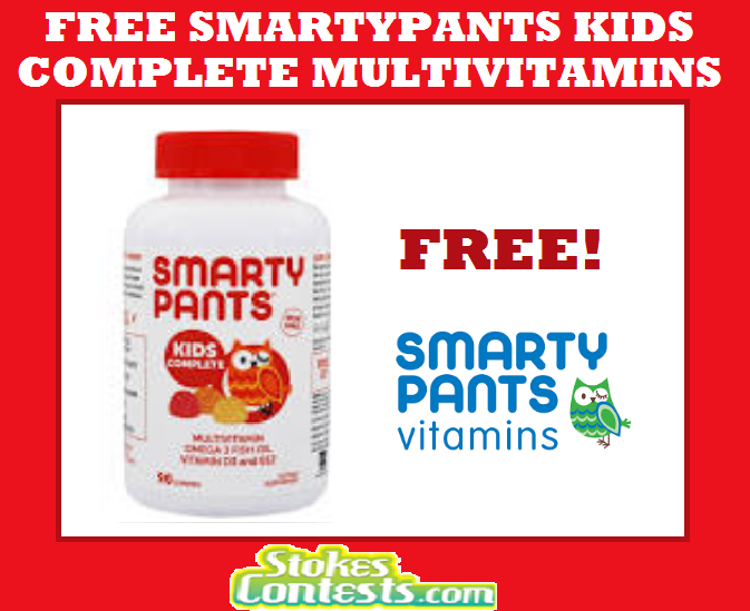 Image FREE SmartyPants Kids Complete Multivitamins