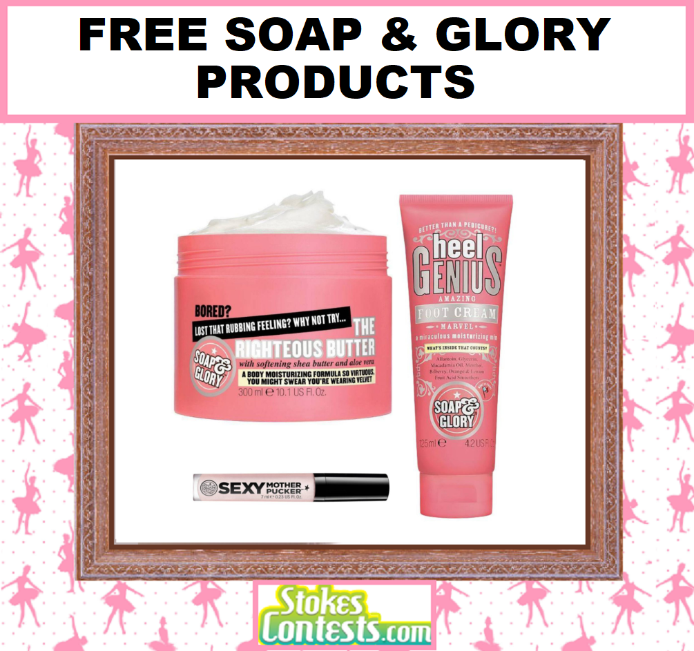 Image FREE Soap & Glory Products